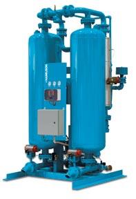 Heated Purge desiccant air compressor